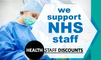 Discounts and offers for NHS Staff Malvern