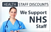NHS Staff discount code available here