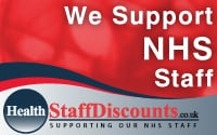 NHS staff discount uk
